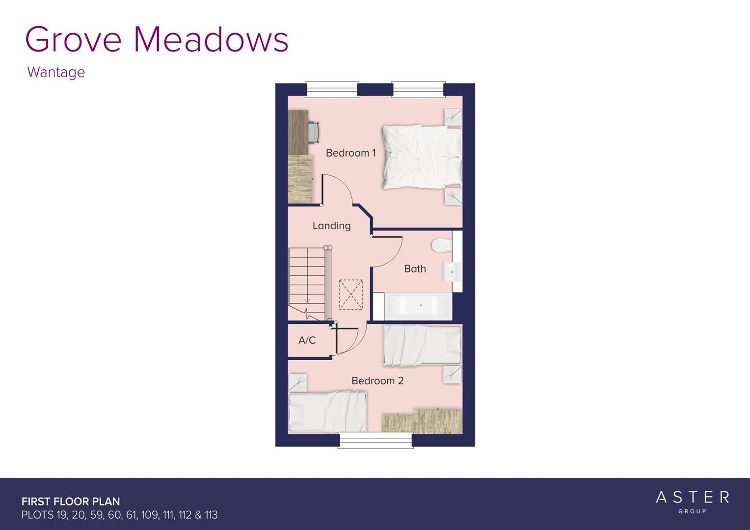 Grove Meadows Wantage_Plots 19 20 59 60 61 109 111